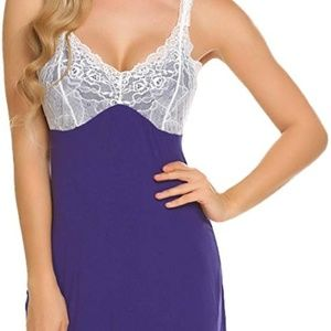 Other - Sexy Lingerie Women's Sleepwear Satin Nightgown